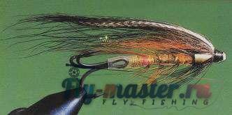 вязание лососевых мушек