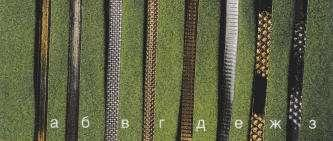 Металлические люрексы