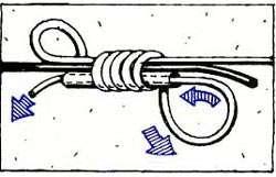 нахлыстовый узел Nail Knot