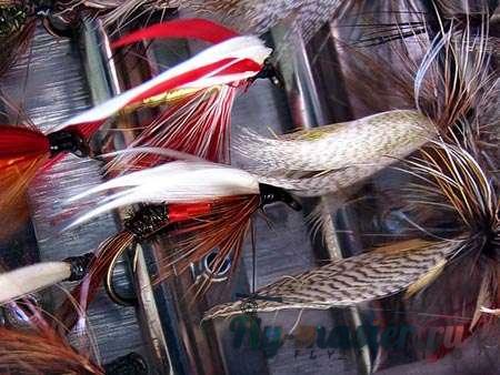 мокрые мушки вязание