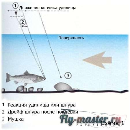 ловля во  нахлыст сверху море