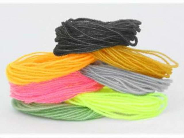 Синель (Chenille) - материал для вязания мушек
